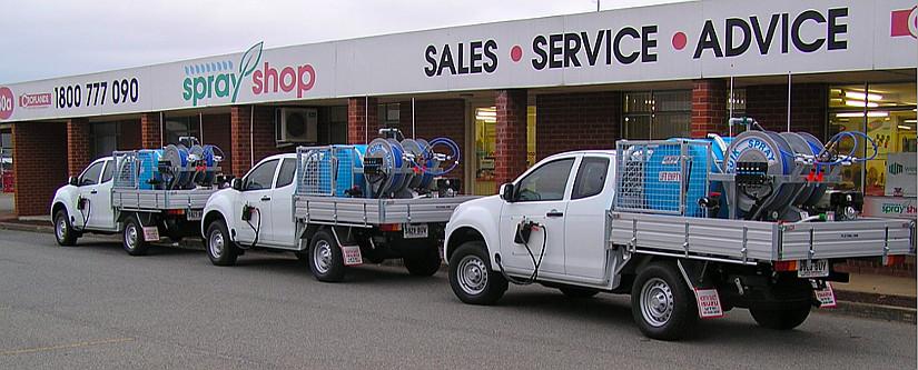 Sprayshop Trucks